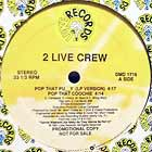 2 LIVE CREW : POP THAT PUSSY (LP VERSION)  / MEGA MIX V