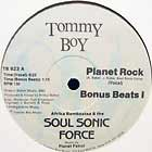 AFRIKA BAMBAATAA  & THE SOUL SONIC FORCE : PLANET ROCK