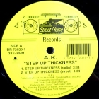 A.K. : STEP UP THICKNESS