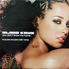 ALICIA KEYS : YOU DON'T KNOW MY NAME