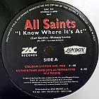 ALL SAINTS : I KNOW WHERE IT'S AT
