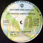 ASHFORD & SIMPSON : DON'T COST YOU NOTHING