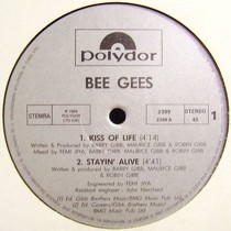 BEE GEES : KISS OF LIFE  / STAYIN' ALIVE