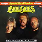 BEE GEES : THE WOMAN IN YOU  / STAYIN' ALIVE