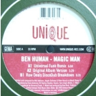 BEN HUMAN : MAGIC MAN