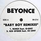 BEYONCE : BABY BOY  (REMIXES) / WHAT'S IT GONNA BE BOY