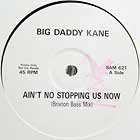 BIG DADDY KANE : AIN'T NO STOPPIN' US NOW