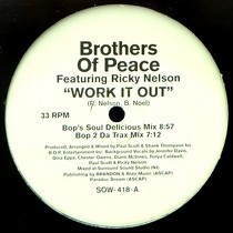 BROTHERS OF PEACE  ft. RICKY NELSON : WORK IT OUT