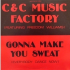 C+C MUSIC FACTORY : GONNA MAKE YOU SWEAT