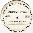 CHERYL LYNN : GOT TO BE REAL