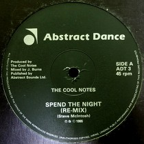 COOL NOTES : SPEND THE NIGHT  (RE-MIX)