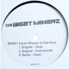 DA BEATMINERZ  ft. CARON WHELER & PETE ROCK : OPEN