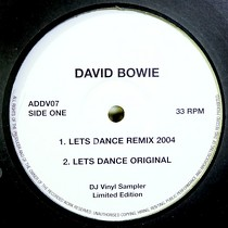 DAVID BOWIE  / BLONDIE : LETS DANCE REMIX 2004  / RAPTURE REMIX 2004