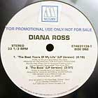 DIANA ROSS : THE BEST YEARS OF MY LIFE (LP VERSION)  / THE BOSS (LP VERSION)