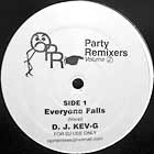 D.J. KEV-G : EVERYONE FALLS  (2nd PRESS)