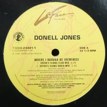 DONELL JONES : WHERE I WANNA BE  (REMIXES)
