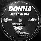 DONNA : JUSTIFY MY LOVE