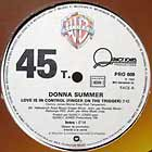 DONNA SUMMER : LOVE IS IN CONTROL (FINGER ON THE TRIGGER)