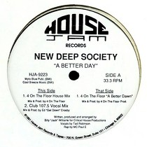 NEW DEEP SOCIETY : A BETTER DAY