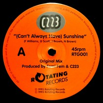 C223 : (CAN'T ALWAYS HAVE) SUNSHINE