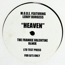 M.O.D.E.  ft. LEROY BURGESS : HEAVEN