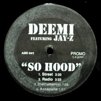 DEEMI  ft. JAY-Z : SO HOOD