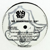 "V.A. : WE INVENTED IT ""EP"""