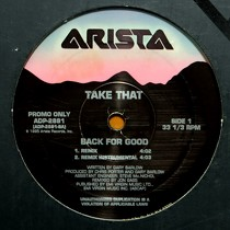 TAKE THAT : BACK FOR GOOD