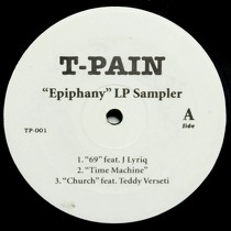 T-PAIN : EPIPHANY  LP SAMPLER
