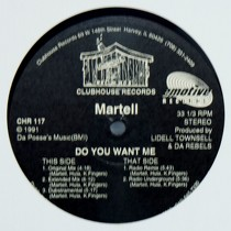 MARTELL : DO YOU WANT ME
