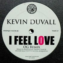 KEVIN DUVALL : I FEEL LOVE