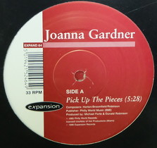 JOANNA GARDNER : PICK UP THE PIECES