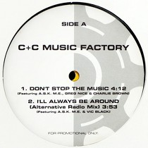C+C MUSIC FACTORY : DON'T STOP THE MUSIC  (EP)