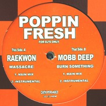 RAEKWON  / MOBB DEEP : MASSACRE  / BURN SOMETHING