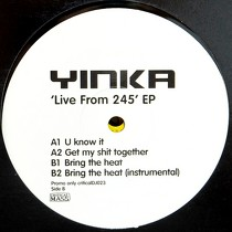 YINKA : LIVE FROM 245 EP