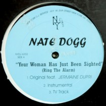 NATE DOGG  ft. JERMAINE DUPRI : YOUR WOMAN JUST BEEN SIGHTED (RING THE ALARM)  / KEEP IT G.A.N.G.S.T.A.