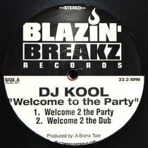 DJ KOOL : WELCOME TO THE PARTY
