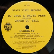 DJ CHUS & DAVID PENN  ft. DAREN J. BELL : SUNSHINE