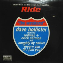 DAVE HOLLISTER  ft. REDMAN & ERICK SERMON : THE WEEKEND
