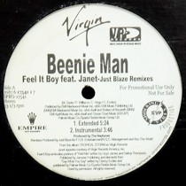BEENIE MAN  ft. JANET JACKSON : FEEL IT BOY  (JUST BLAZE REMIXES)