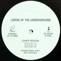 LORDS OF THE UNDERGROUND : CHIEF ROCKA