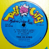 45 KING : THE KING IS HERE!