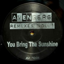 ERYKAH BADU  / GINA THOMPSON : AVENGERS REMIXES  VOL.1