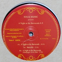 SOLU MUSIC  presents : A NIGHT AT THE BARRACUDA E.P.