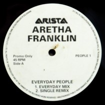 ARETHA FRANKLIN : EVERYDAY PEOPLE
