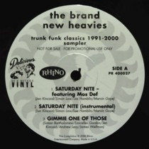 BRAND NEW HEAVIES : TRUNK FUNK CLASSICS 1991-2000  SAMPLER