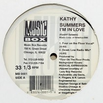 KATHY SUMMERS : I'M IN LOVE