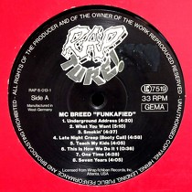 MC BREED : FUNKAFIED