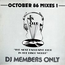 V.A. : DMC MIX  OCTOBER 86 (MIXES 1)