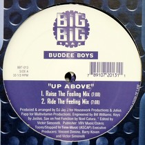 BUDDEE BOYS : UP ABOVE  / FEEL FUNCTION